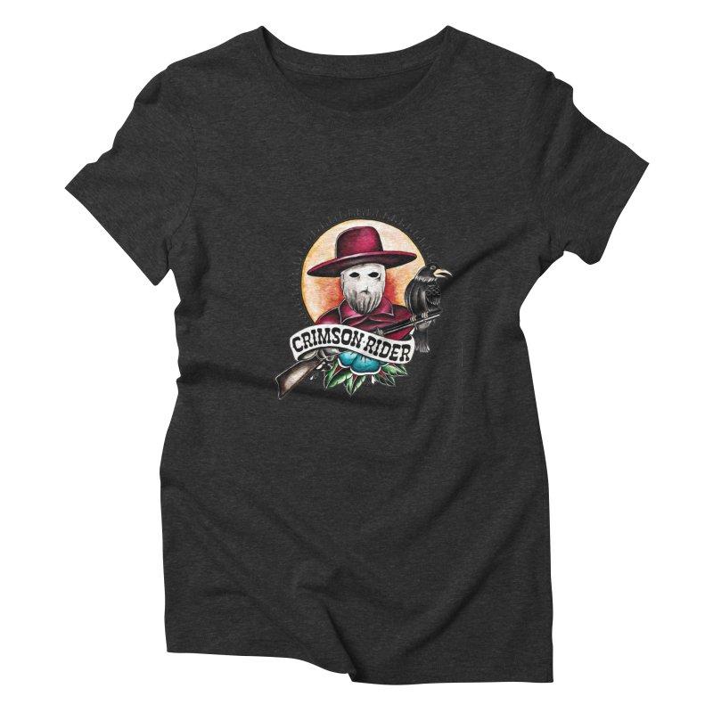 Crimson Rider/Jake Clinton Women's Triblend T-Shirt by thebullmoose's Artist Shop