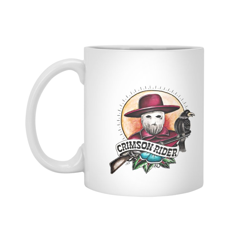 Crimson Rider/Jake Clinton Accessories Standard Mug by thebullmoose's Artist Shop