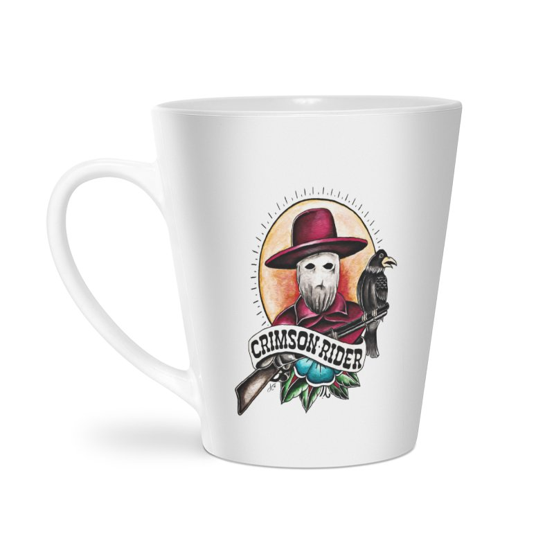 Crimson Rider/Jake Clinton Accessories Latte Mug by thebullmoose's Artist Shop