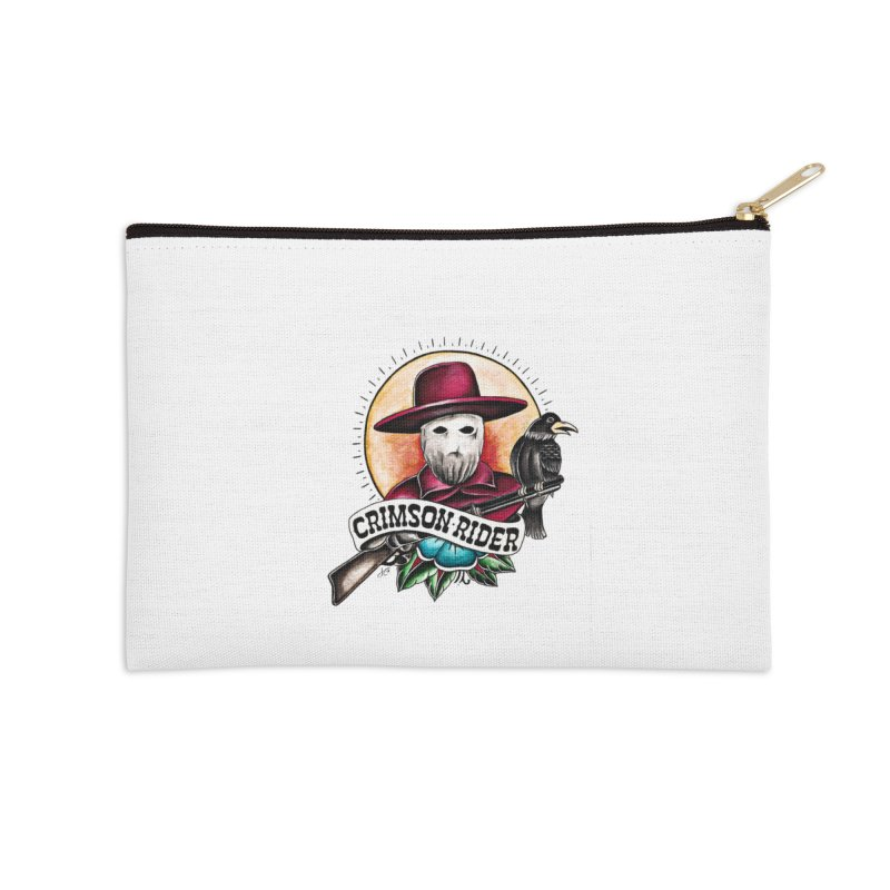 Crimson Rider/Jake Clinton Accessories Zip Pouch by thebullmoose's Artist Shop