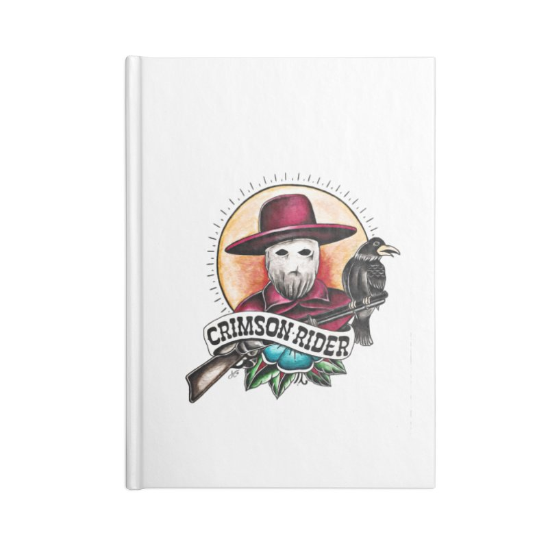 Crimson Rider/Jake Clinton Accessories Lined Journal Notebook by thebullmoose's Artist Shop