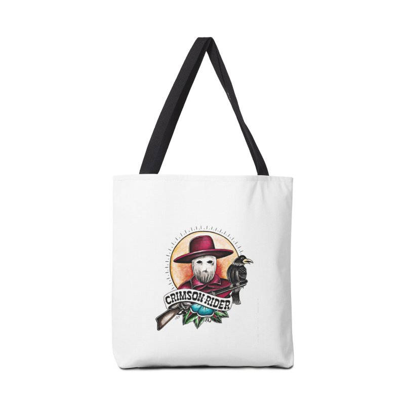 Crimson Rider/Jake Clinton Accessories Bag by thebullmoose's Artist Shop