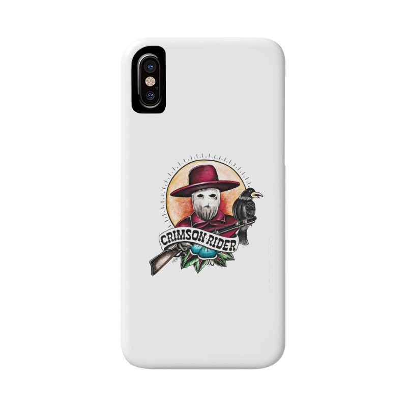 Crimson Rider/Jake Clinton Accessories Phone Case by thebullmoose's Artist Shop