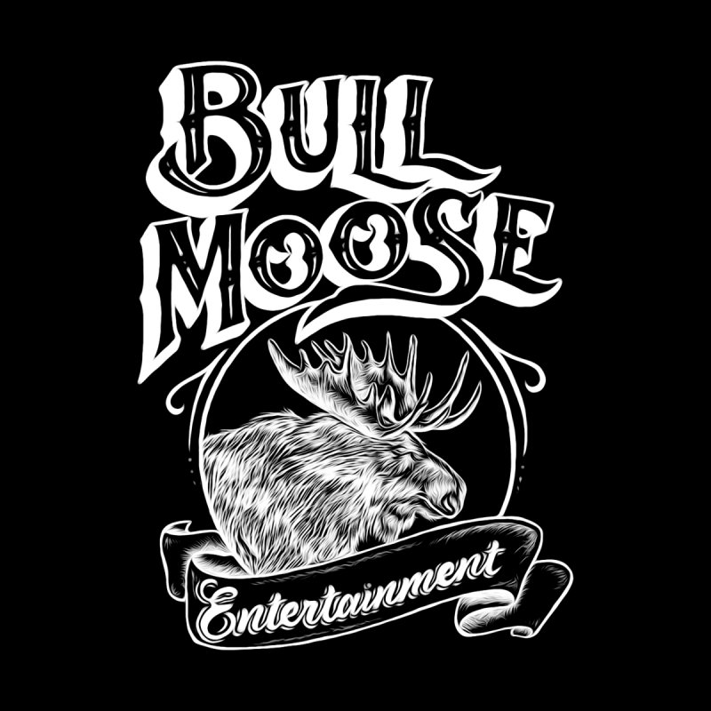 Bull Moose Logo - For Darks Women's Scoop Neck by thebullmoose's Artist Shop