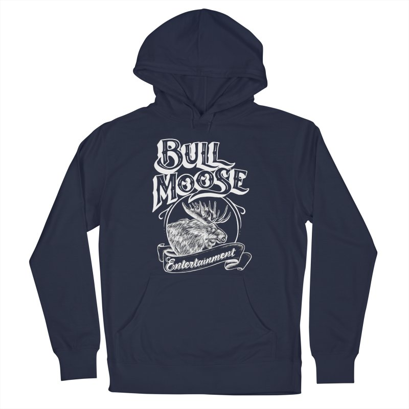 Bull Moose Logo - For Darks Men's Pullover Hoody by thebullmoose's Artist Shop