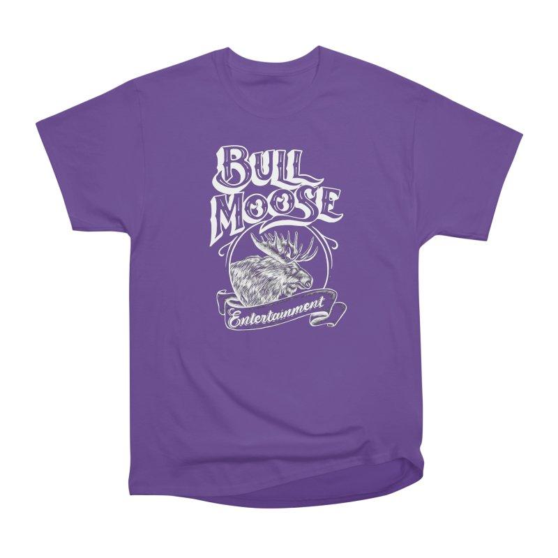 Bull Moose Logo - For Darks Men's Heavyweight T-Shirt by thebullmoose's Artist Shop