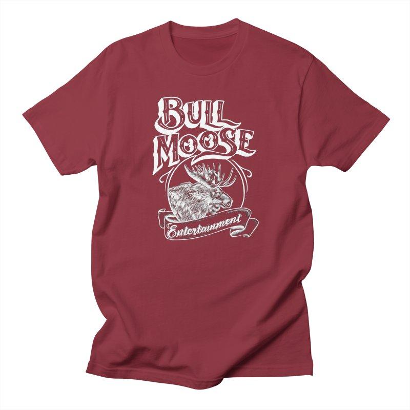 Bull Moose Logo - For Darks Men's T-Shirt by thebullmoose's Artist Shop