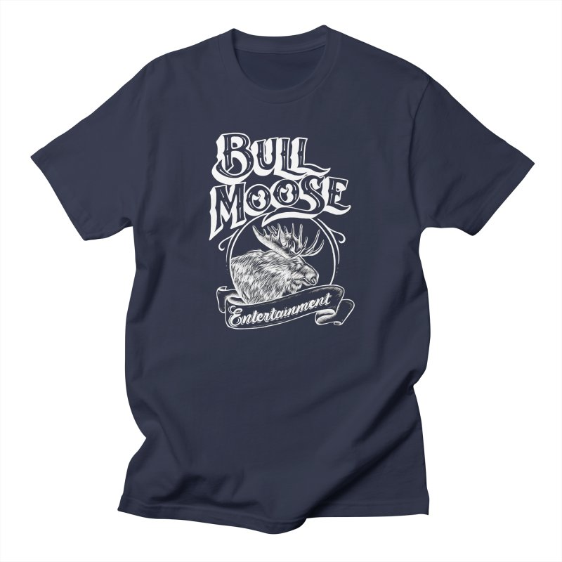 Bull Moose Logo - For Darks Women's Regular Unisex T-Shirt by thebullmoose's Artist Shop
