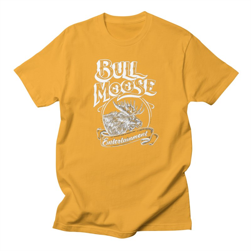 Bull Moose Logo - For Darks Men's Regular T-Shirt by thebullmoose's Artist Shop