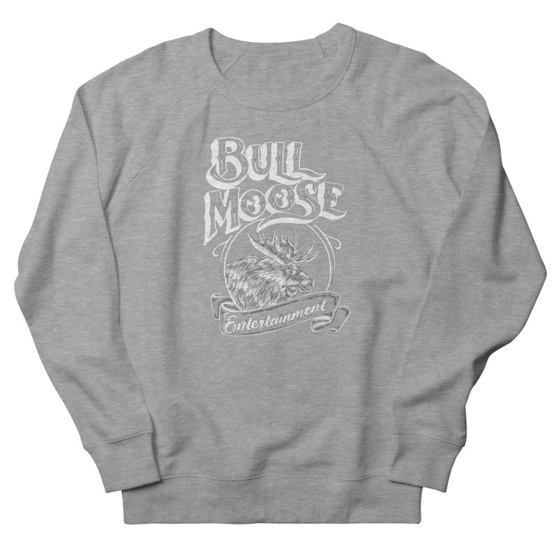 Bull Moose Logo - For Darks Women's French Terry Sweatshirt by thebullmoose's Artist Shop