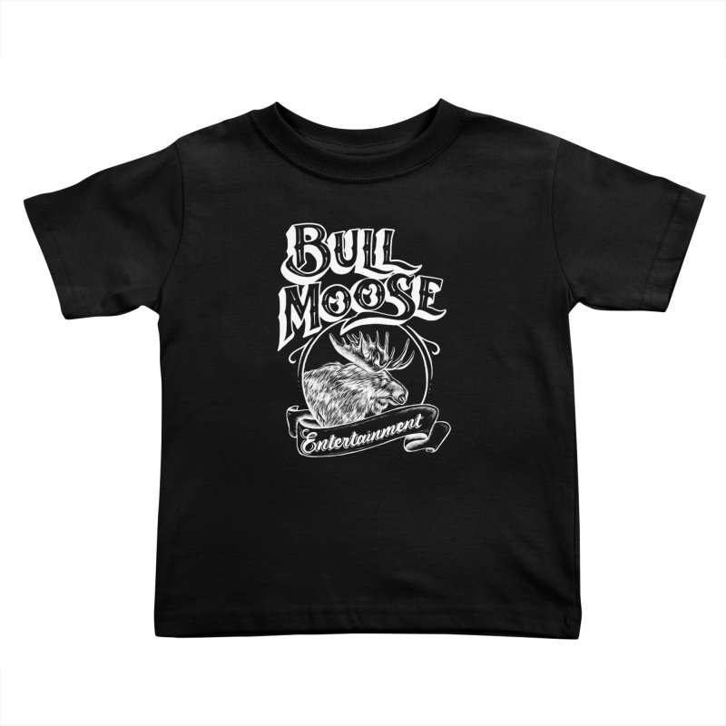 Bull Moose Logo - For Darks Kids Toddler T-Shirt by thebullmoose's Artist Shop
