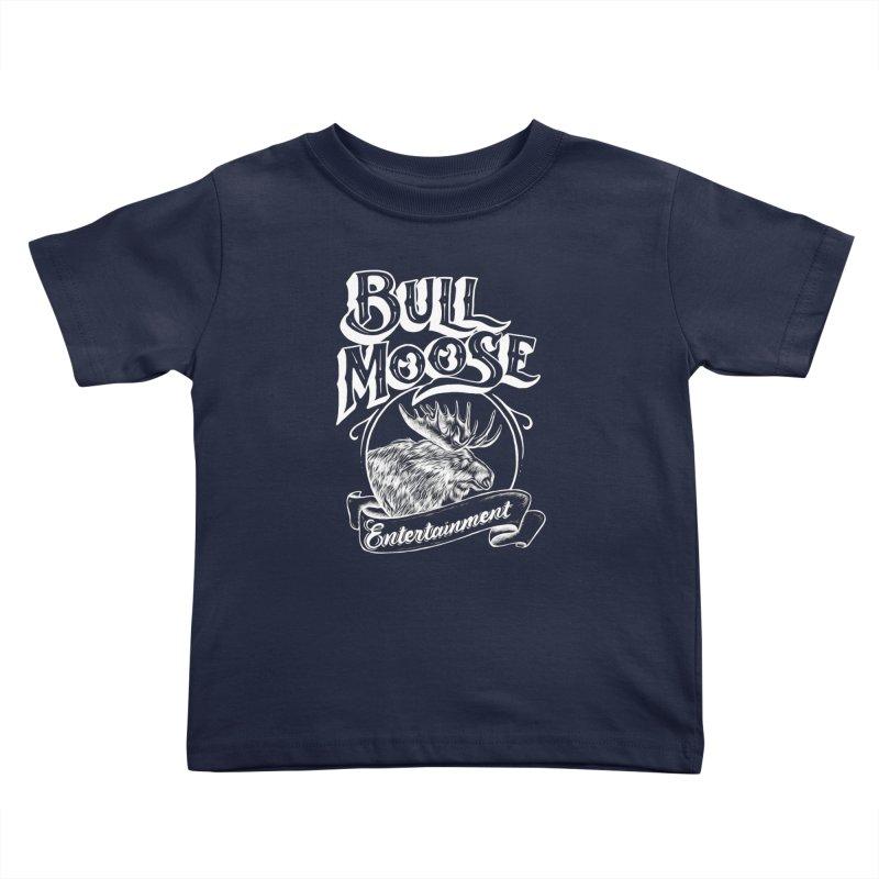 Bull Moose Logo - For Darks Kids Toddler T-Shirt by thebullmoose's Artist Shop