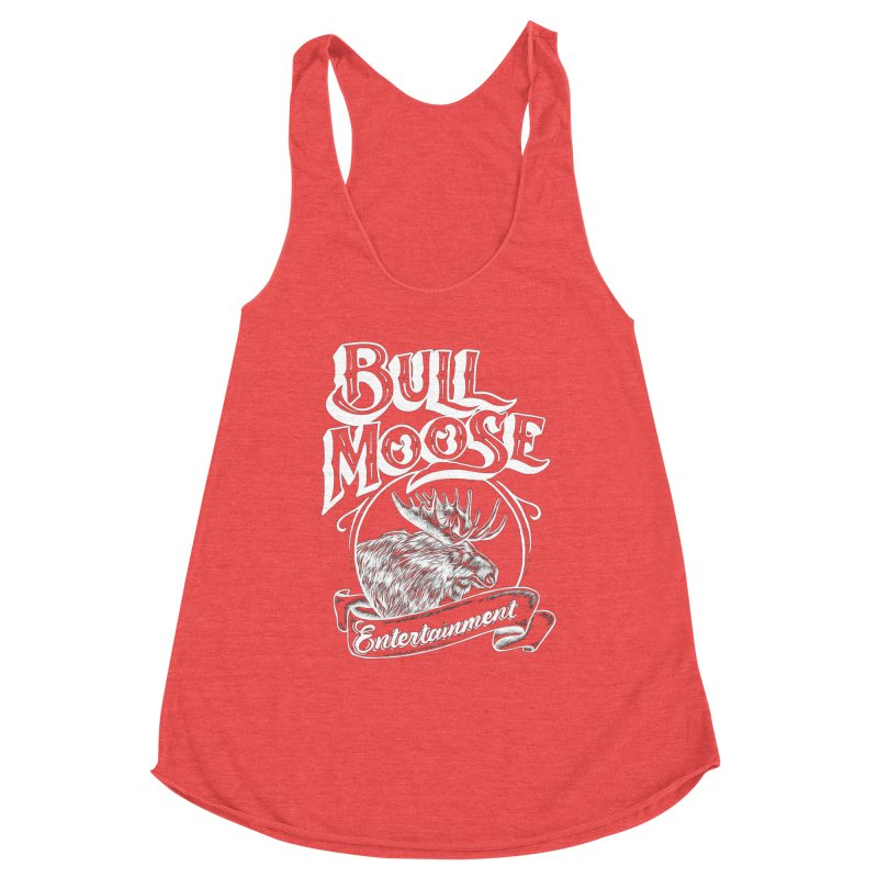 Bull Moose Logo - For Darks Women's Tank by thebullmoose's Artist Shop