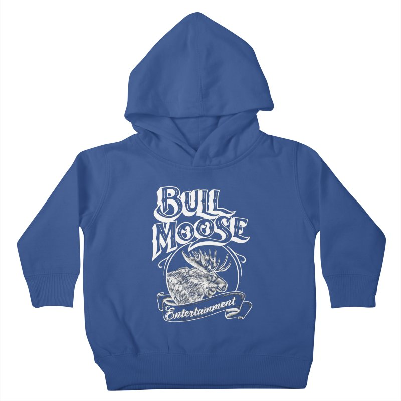 Bull Moose Logo - For Darks Kids Toddler Pullover Hoody by thebullmoose's Artist Shop