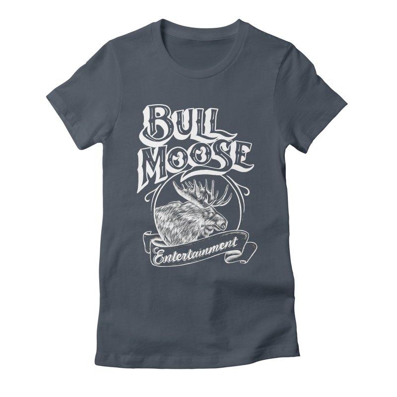 Bull Moose Logo - For Darks Women's T-Shirt by thebullmoose's Artist Shop