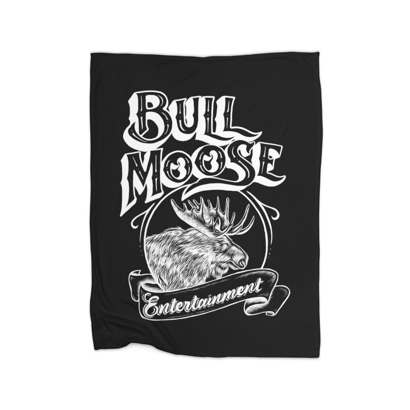 Bull Moose Logo - For Darks Home Blanket by thebullmoose's Artist Shop