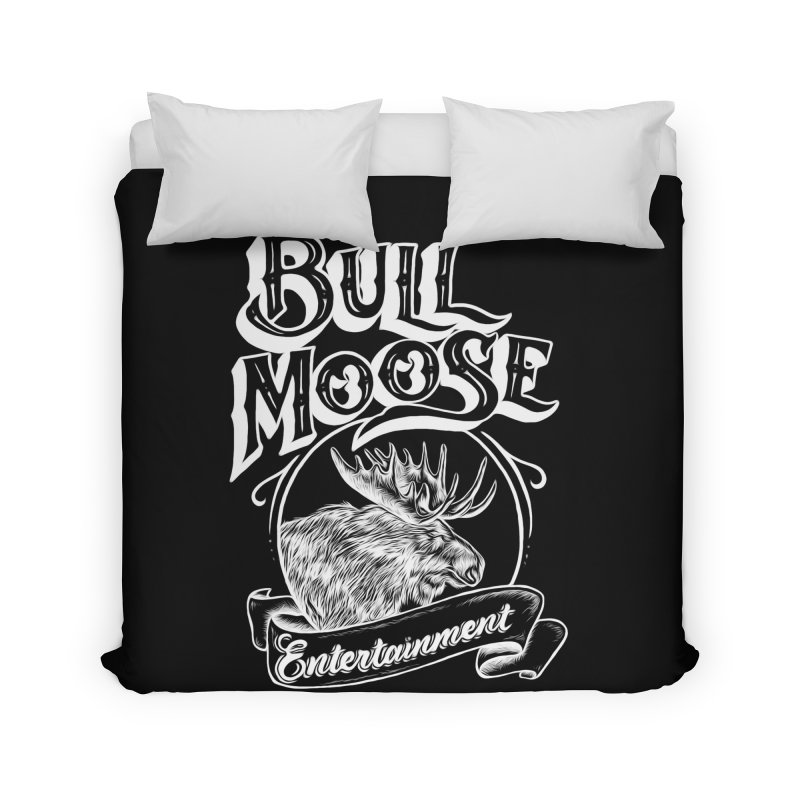 Bull Moose Logo - For Darks Home Duvet by thebullmoose's Artist Shop