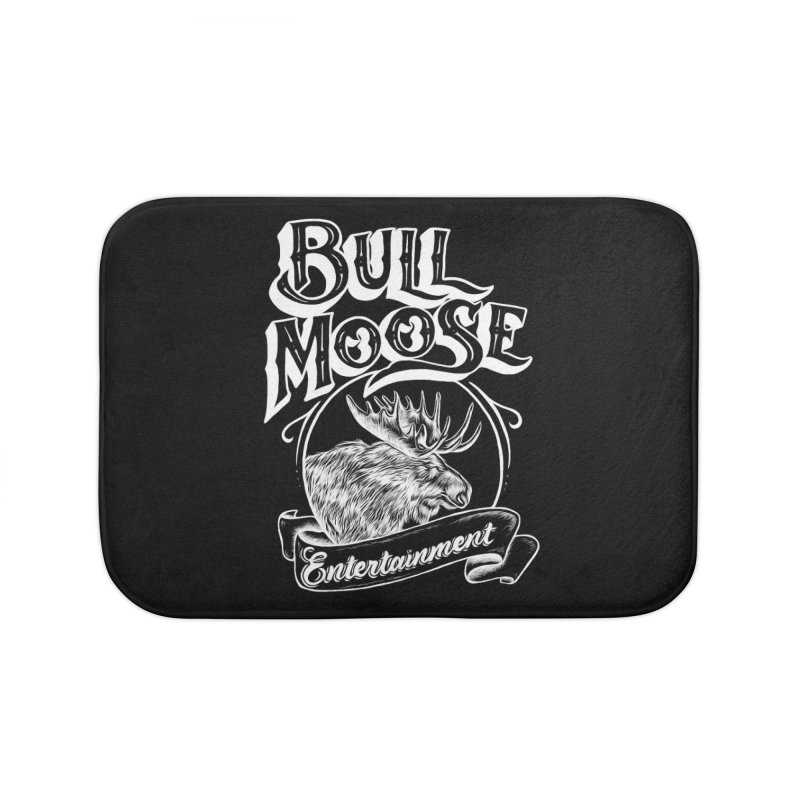 Bull Moose Logo - For Darks Home Bath Mat by thebullmoose's Artist Shop