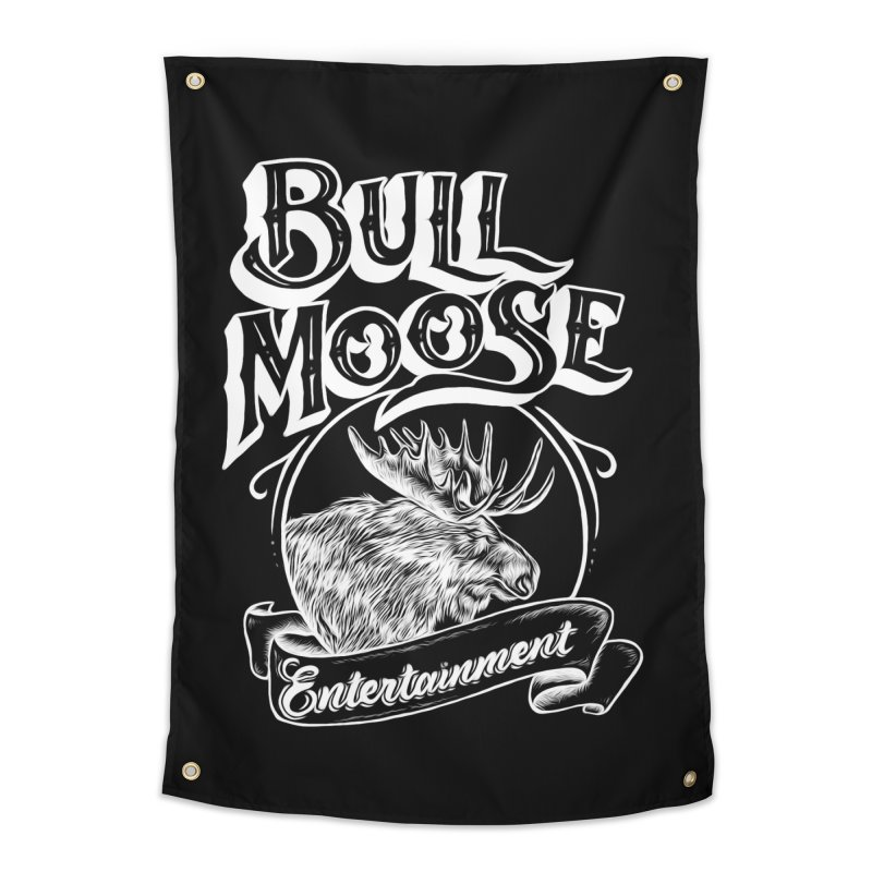 Bull Moose Logo - For Darks Home Tapestry by thebullmoose's Artist Shop