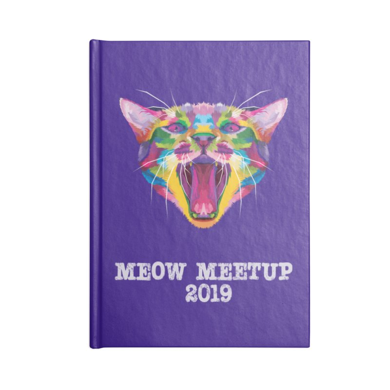 Meow MeetUp Official Accessories Notebook by The Catnip Times Swag Shop