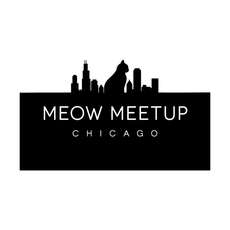 Meow MeetUp Chicago Logo Tee Women's T-Shirt by The Catnip Times Swag Shop