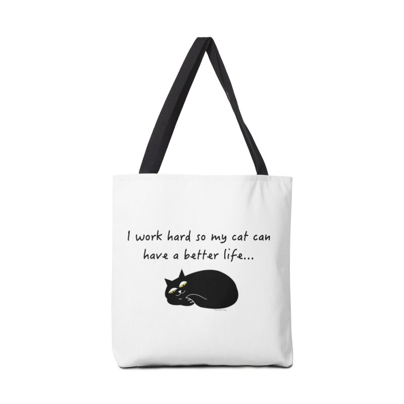 Wesley (Black) Accessories Bag by The Catnip Times Swag Shop