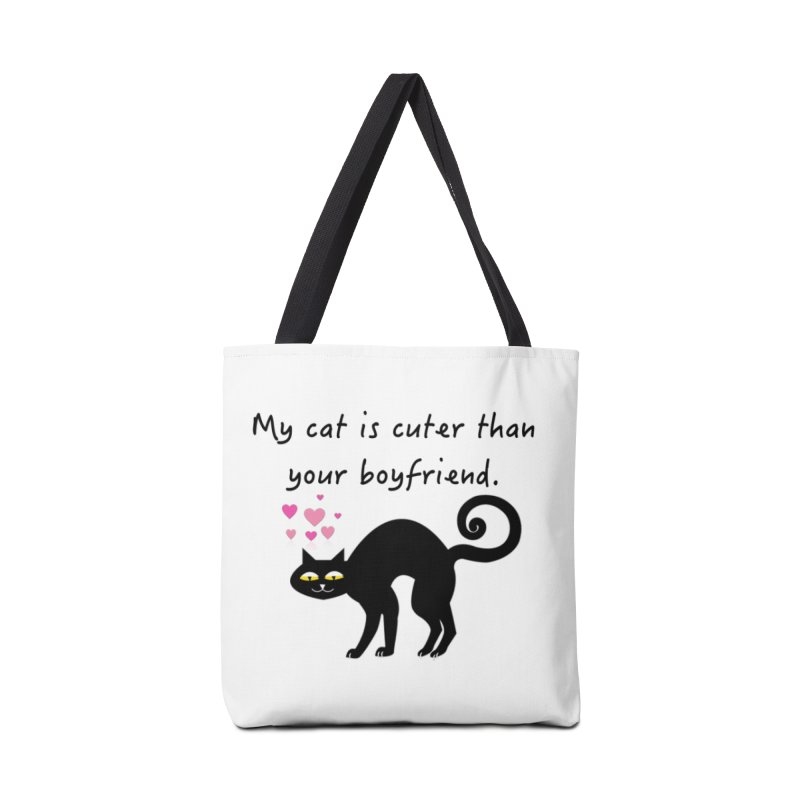 Romeo (Black) Accessories Bag by The Catnip Times Swag Shop