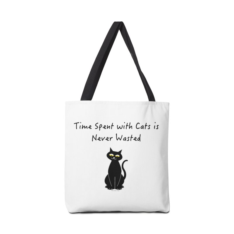 Tabitha (Black) Accessories Bag by The Catnip Times Swag Shop