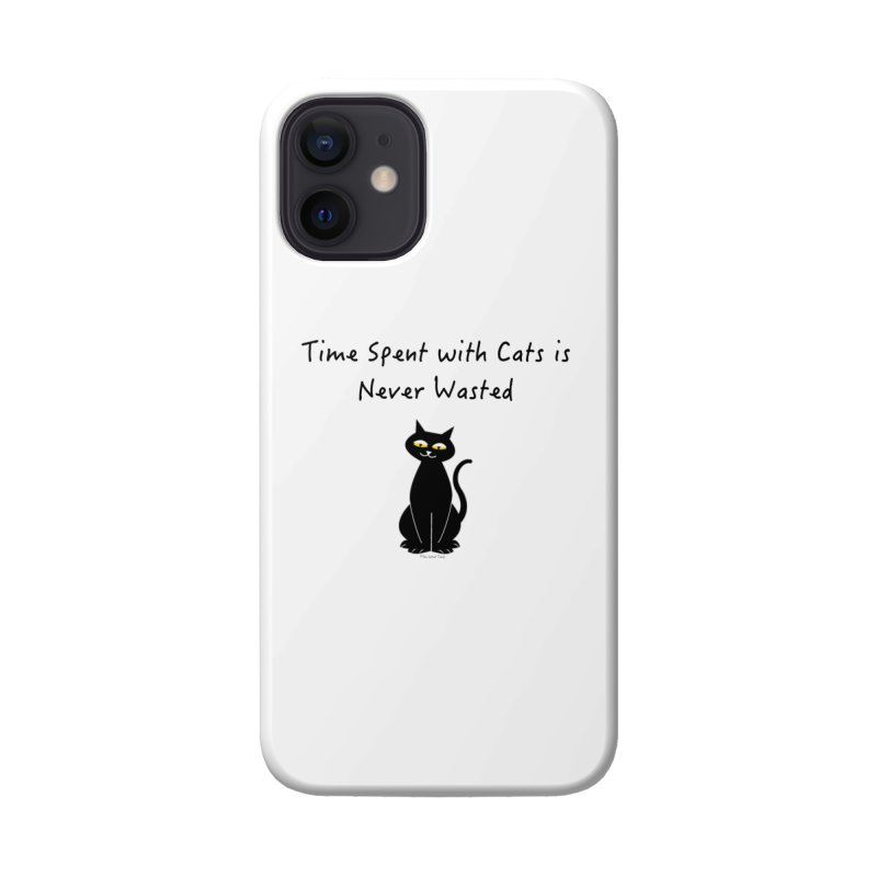 Tabitha (Black) Accessories Phone Case by The Catnip Times Swag Shop