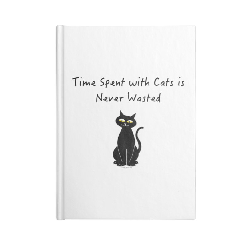 Tabitha (Black) Accessories Notebook by The Catnip Times Swag Shop