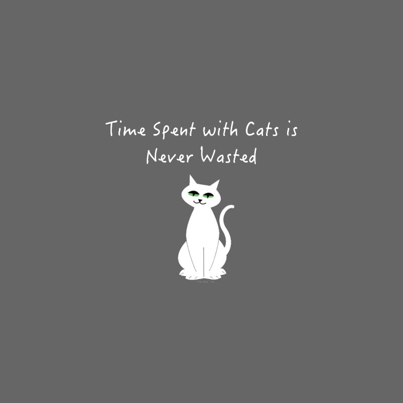 Tabitha (White) Home Stretched Canvas by The Catnip Times Swag Shop