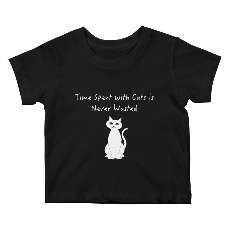 Tabitha (White) Kids Baby T-Shirt by The Catnip Times Swag Shop