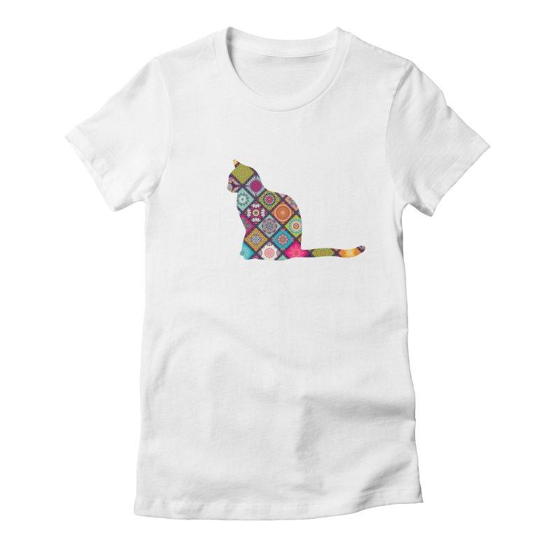 Boho Meowdallions Women's T-Shirt by The Catnip Times Swag Shop