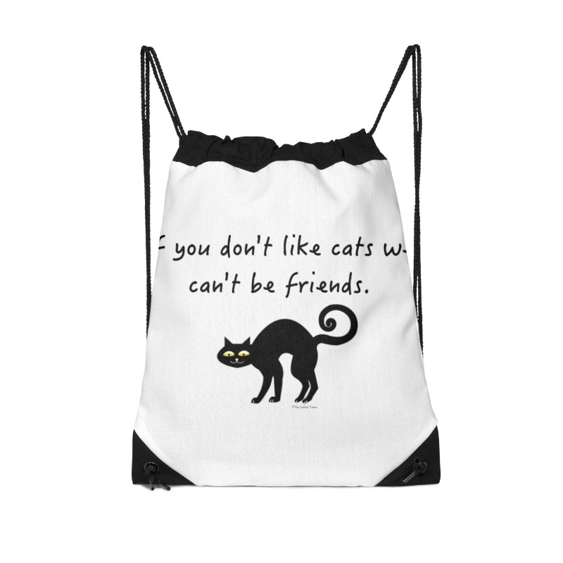 Rocky - If you dont like cats we cant be friends Accessories Bag by The Catnip Times Swag Shop