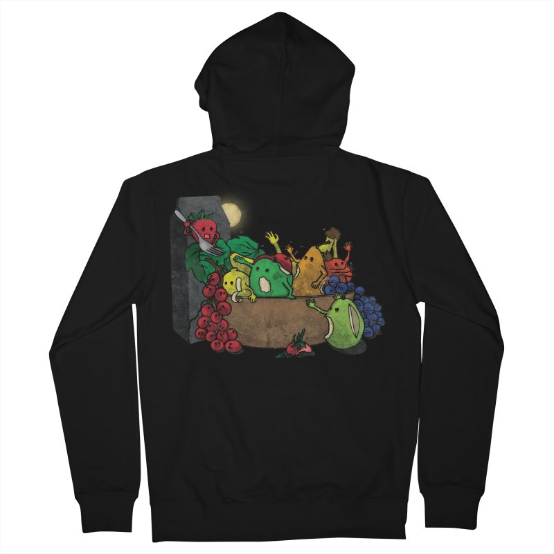 Bad Produce Men's Zip-Up Hoody by ChaseVernonDesigns