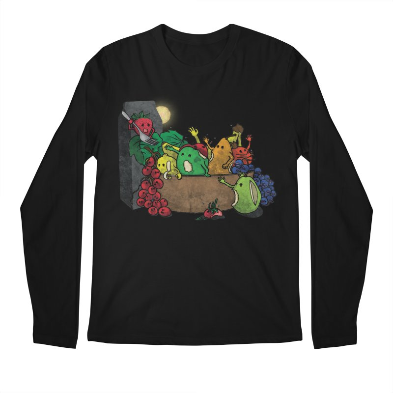 Bad Produce Men's Longsleeve T-Shirt by ChaseVernonDesigns