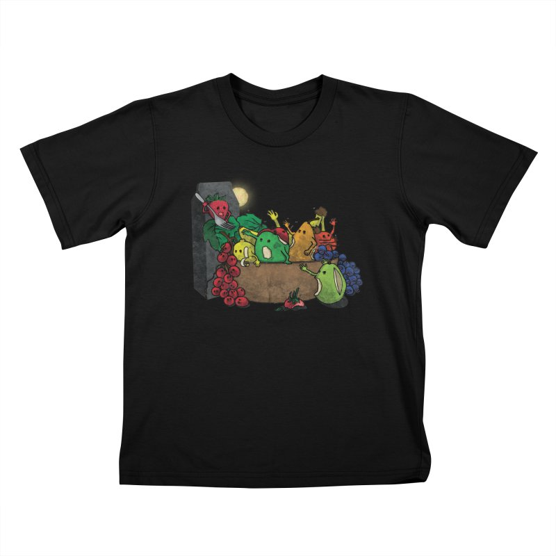 Bad Produce Kids T-shirt by ChaseVernonDesigns