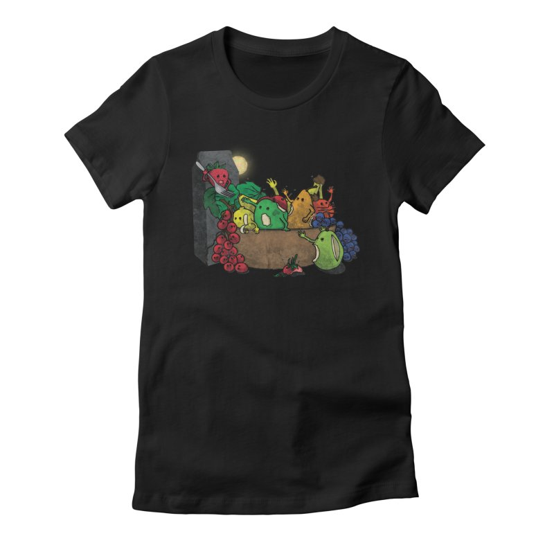 Bad Produce Women's Fitted T-Shirt by ChaseVernonDesigns