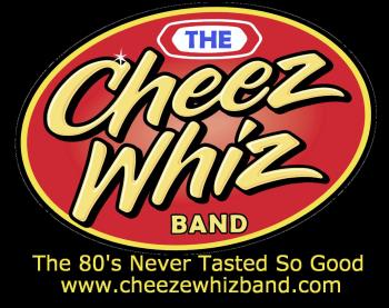 Official Cheez Whiz Band Merch Logo