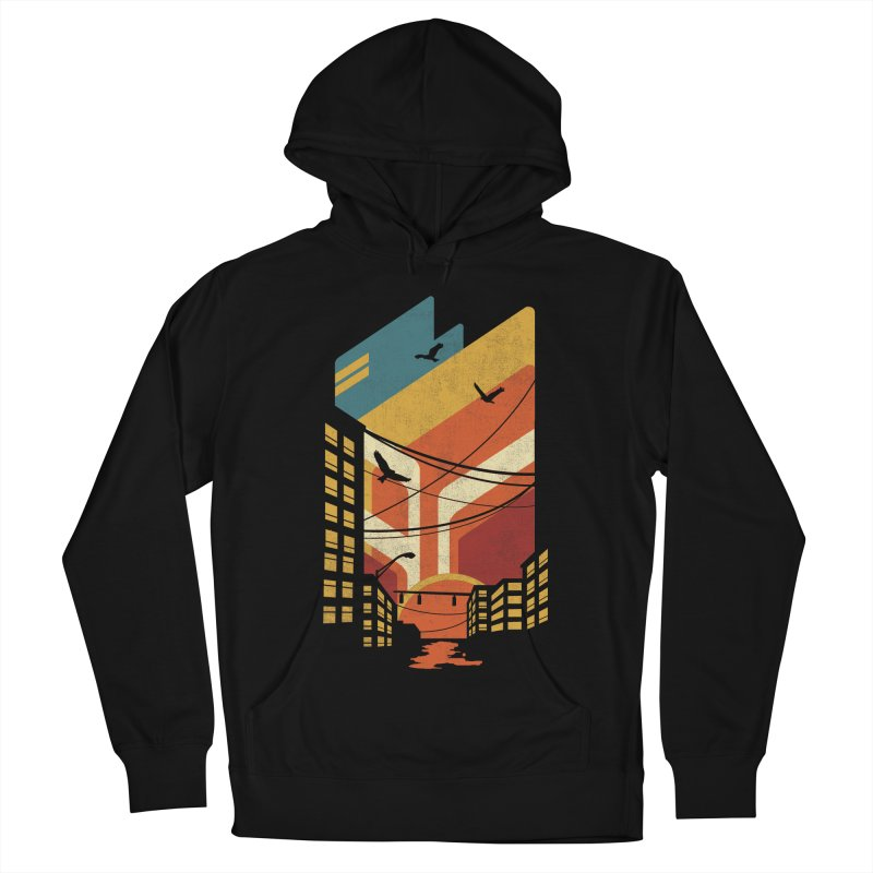 Setting Sun 1971 Men's Pullover Hoody by The Child's Artist Shop