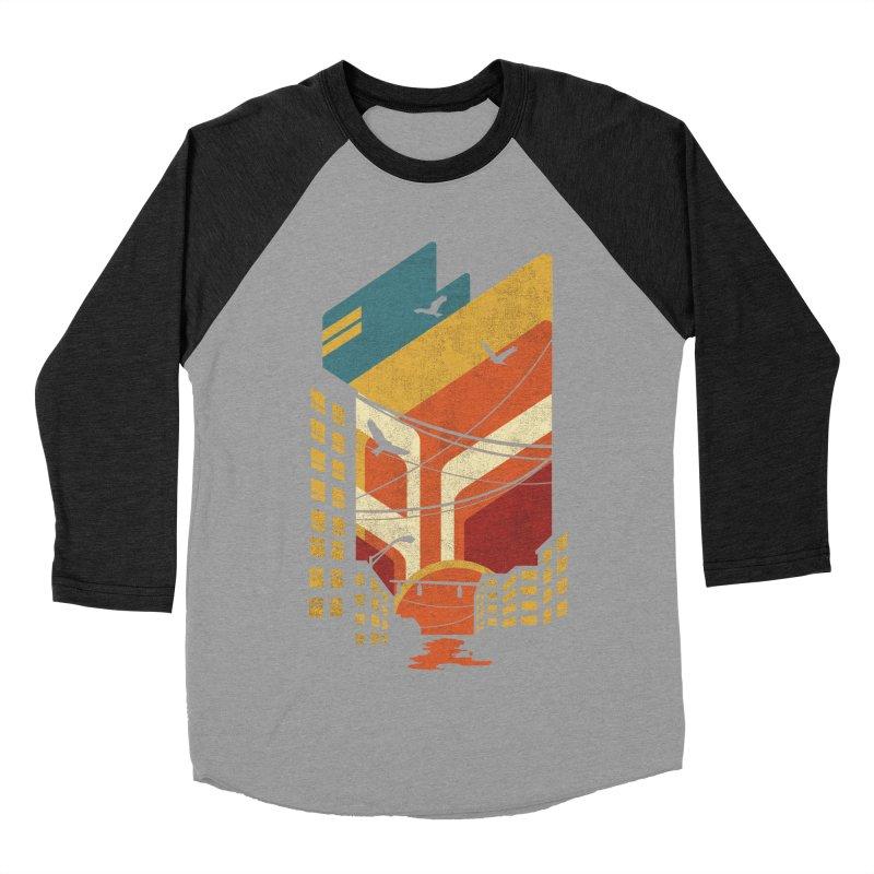 Setting Sun 1971 Women's Baseball Triblend T-Shirt by The Child's Artist Shop