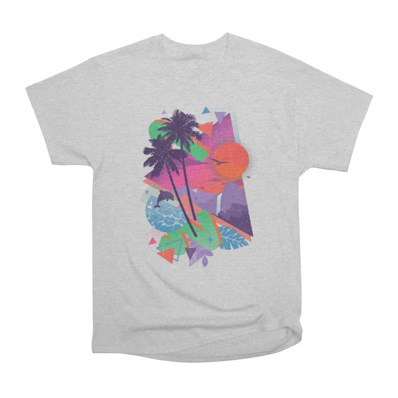Tropix96 Men's Heavyweight T-Shirt by The Child's Artist Shop