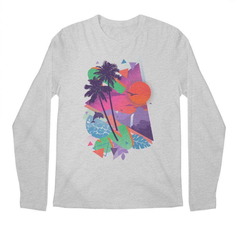 Tropix96 Men's Longsleeve T-Shirt by The Child's Artist Shop