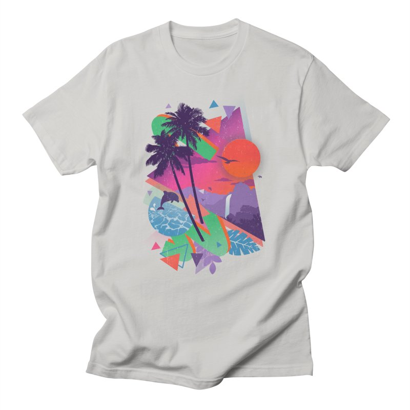 Tropix96 Women's Unisex T-Shirt by The Child's Artist Shop
