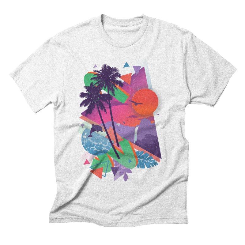 Tropix96 Men's Triblend T-shirt by The Child's Artist Shop