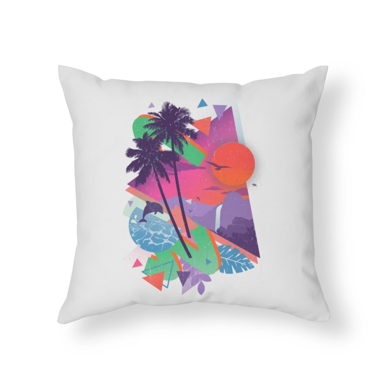 Tropix96 Home Throw Pillow by The Child's Artist Shop