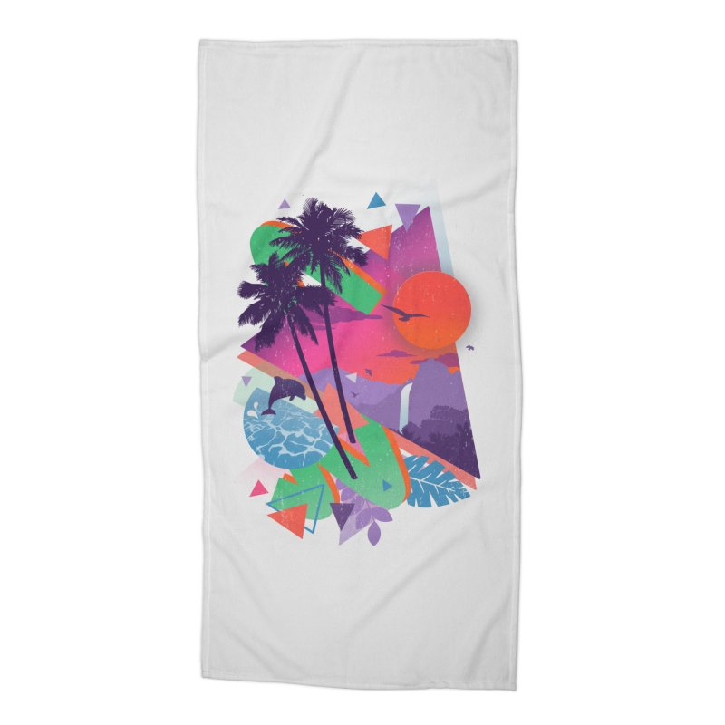Tropix96 Accessories Beach Towel by The Child's Artist Shop