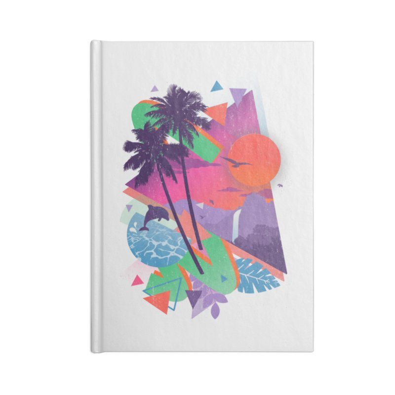 Tropix96 Accessories Notebook by The Child's Artist Shop