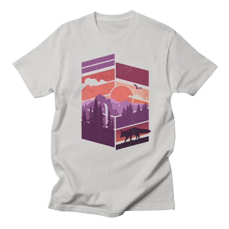 Vanishing Point Men's T-shirt by The Child's Artist Shop