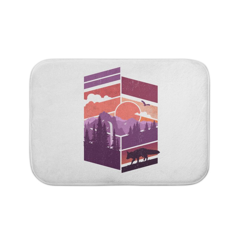 Vanishing Point Home Bath Mat by The Child's Artist Shop
